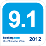 booking.com award 2012